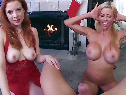 My Two Moms -Alexis Fawx &amp_ Lady Fyre Christmas Taboo Special