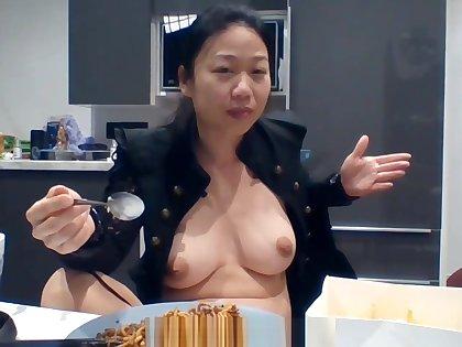 #JulietUncensoredRealityTV Season 1A Episode 35: Real Asian Amateur Reality Porn Star Piss Compilation &amp_ Vlogging Mukbang Behind The Scenes