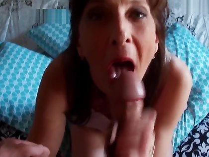 Step Son Calls Repairman Step Mom Fucks Him Milf Anal