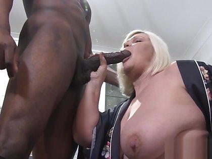 Busty Grandmas Pussy Blacked