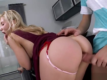 Ashley Fires Fucked hardcore And Swallows A Load!