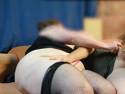 BBW Step Mom Busts Step Son Watching Porn and Seduces Him