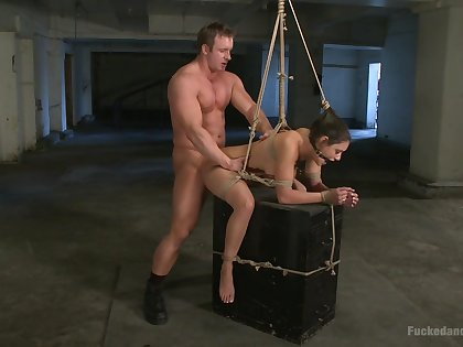 Opprobrious BDSM torture chapter with seem like shafting for Charley Chase