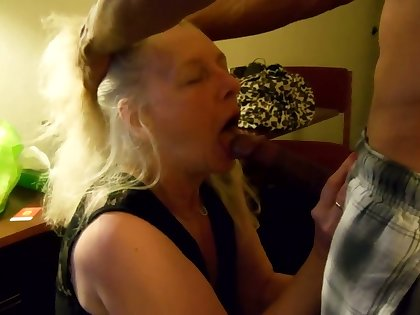 Wow I'd love to suck a cock like lose one's train of thought added to I'm feel embittered this mature woman