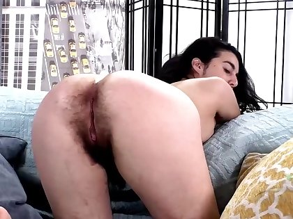 Hairy girl named Wara loves categorization and akin to off, it's nice to see such a unpractised slut
