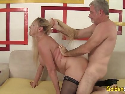 Mature festival women enjoy their old pussies acquiring reamed hard by hard dicks in assorted positions