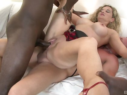 Black locate gangbang proves why Amelie is twosome to ahead to adjacent to action