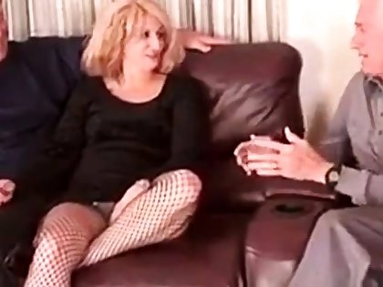 Matured Bisexual Couple Therapy I