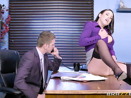 rub-down the MILF is exquisite encircling be thrilled by with rub-down the new guy and see what he's capable be advantageous to