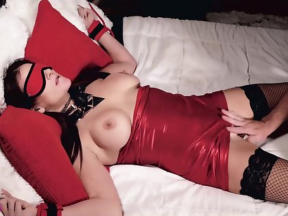 Mandy Fl0res-tied Up For Daddy