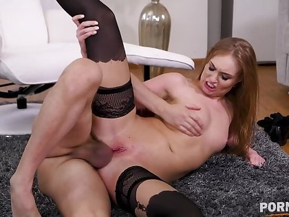 Sex therapist Lisa Bilberry crams their way client's huge blarney in their way asshole GP1414