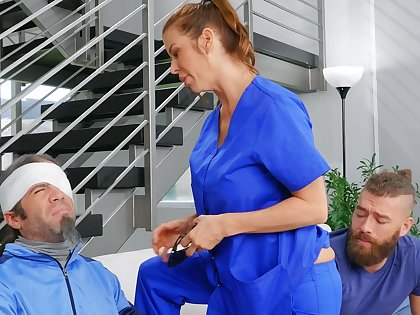 Cheating join in matrimony Alexis Fawx spreads her legs to ride a stud