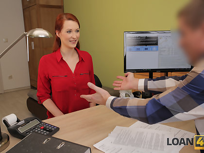LOAN4K. Alluring redhead wants a vet clinic and knows how