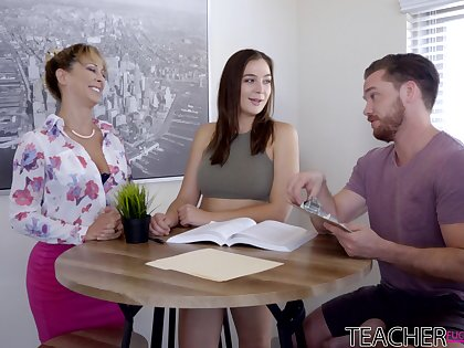Ma sucks learn of friend by friend with the stepdaughter