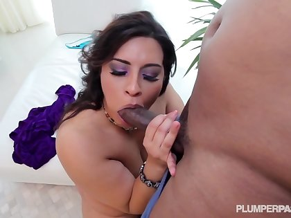 Is Bouncing Her Big Juicy Ass On the top of Him With Sofia Rose